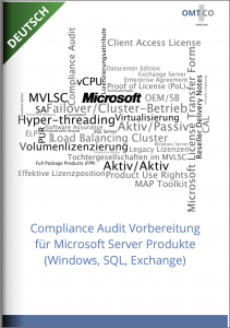 OMTCO - Compliance Audit Preparation for Microsoft Server Products Windows SQL Exchange