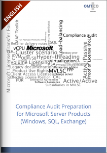 OMTCO - Compliance Audit Vorbereitung fuer Microsoft Server Produkte Windows SQL Exchange