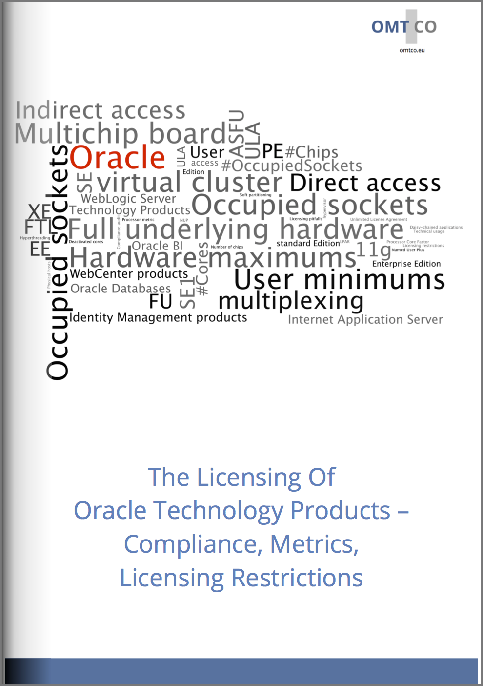 The Licensing Of Oracle Technology Products – Compliance, Metrics