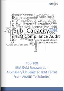 OMTCO - Top 100 IBM SAM Buzzwords - A Glossary Of Selected IBM Terms From Audit To Zseries