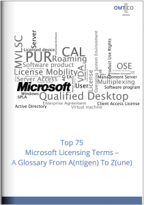 OMTCO - Top 75 Microsoft Licensing Terms - A Glossary From Antigen To Zune